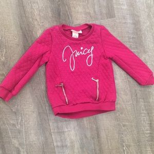 Juicy couture 4t sweater top